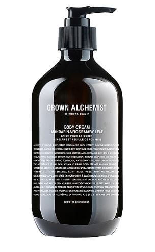 Grown Alchemist body Cream, grown alchemist lotion, grown alchemist