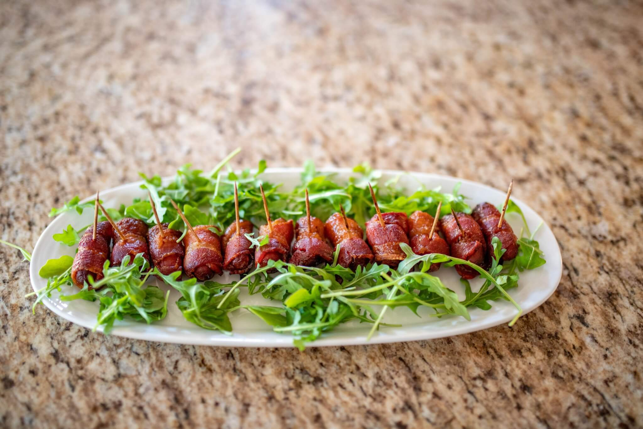 bacon wrapped smokies with brown sugar, game day appetizer, appetizer ideas, easy appetizers, bacon appetizer, smokies appetizer, football party appetizer, superbowl appetizers